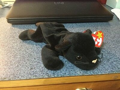 Collectible Velvet Ty Beanie Baby - Tag And Tush Errors!!