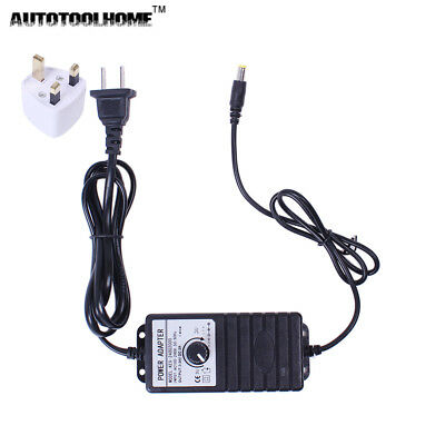 1p DC 3-24V 1A Adjustable Power Supply Adapter Motor Speed Controller w/EU Plug