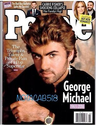 People Magazine George Michael Death Carrie Fisher January 2017