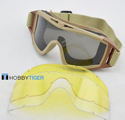 USMC Z87 Face Guard Tactical Safety Glasses Airsoft Sport Outdoor Glasses