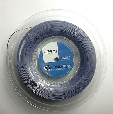 New arrival luxilon alu power Rough tennis string,Silver reel,no print quality