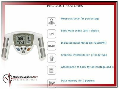 Brand New Body Fat Analyzer Monitor And Accumeasure  Omron HBF-306