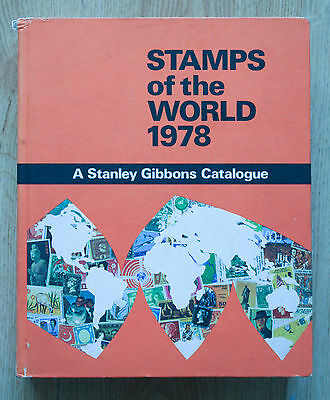 Stamps of the World 1978 - A Stanley Gibbons Catalogue