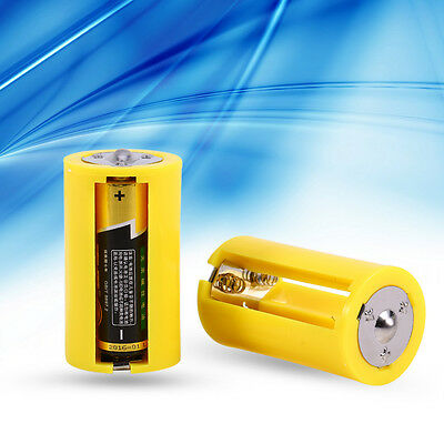 4x Cell Batterie Adaptater Support 1.5V Output Box 3 AA à D Taille Convertisseur
