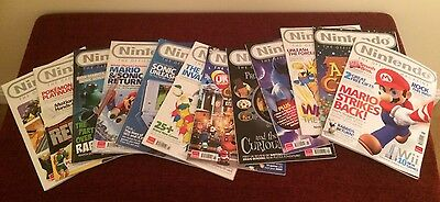 Nintendo Official Magazine Bundle Of 12. Issue 32-43.