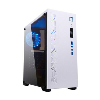 Case PC Gaming Middle Tower CON USB 2 VENTOLE DA 12 CM 6 SLOT PCI 3 PORTE USB