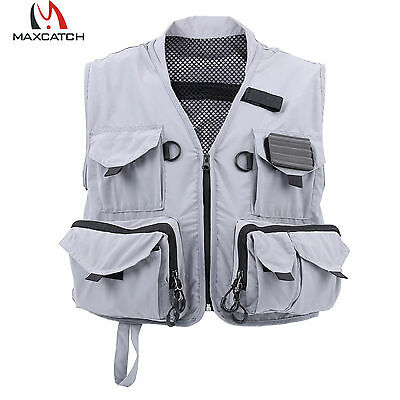 Fly Vest Multi-pocket Light Waistcoat For Outdoor Fly Fishing M Size