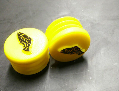 Retro Fred Salmon Racing Bar End Plugs Bring Back The 90's