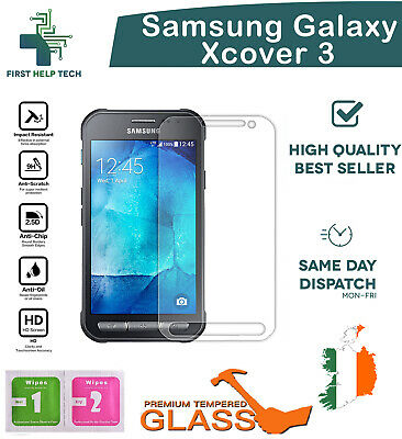 For Samsung Galaxy Xcover 3 Premium Tempered Glass Screen Protector Guard Film