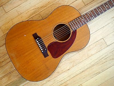 1967 Gibson LG-0 Vintage Acoustic Guitar Mahogany 99.9% Original w/ Hard Case