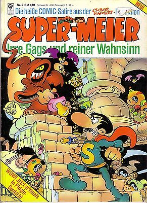 Super-Meier Comic     Nr 5 Rar
