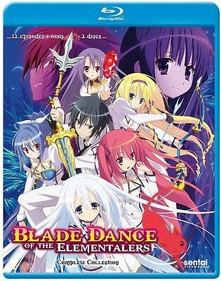 Blade Dance Of The Elementalers - 2 DISC SET (2016, Blu-ray NEUF) (RÉGION A)