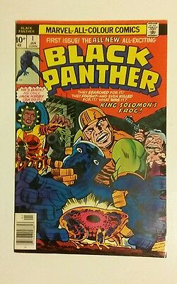 Black Panther, Jack Kirby Inspired 1st Issue Special, Jan 1977, VF/NM