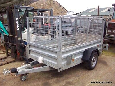Indespension Cage Side Trailer 8 X 4 1300Kgs