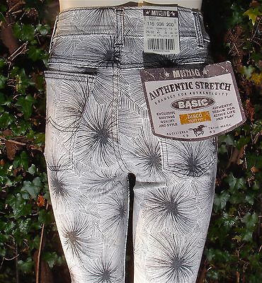 Mustang Stretch Jeans Tight Fit Disco W 30 L30 original Vintage Skinline Röhren