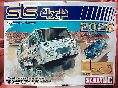 STS 4x4 OFF ROAD SCALEXTRIC EXIN 2028 ***NEW**** NUNCA USADO****