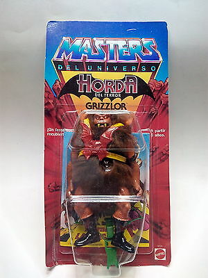 Masters Del Universo - Grizzlor - Motu - Moc- Spanish - New- Sealed
