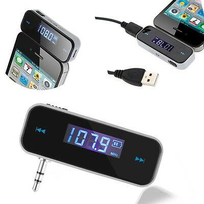 Car Kit FM Radio Modulator Transmitter Wireless MP3 Player For iPhone 5S 5C 6