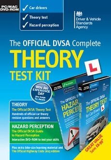 The Official DVSA Complete Theory Test Kit DVD-Rom Theory and Hazard Perception