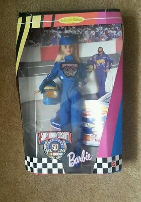 50th Anniversary Nascar 1948-1998 Collector Edition Barbie, New in Box