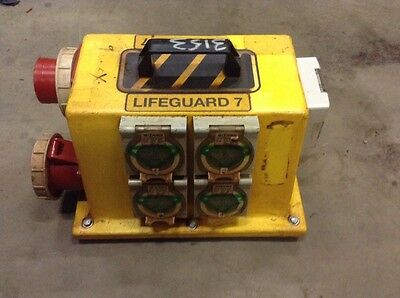 Lifeguard 7 Temporary Electrical Distribution Board