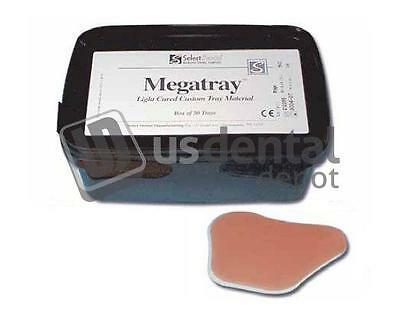 SELECT DENTAL -Megatray Light Curing Tray Material  - Pink - 1.4mm - 50p 4001054