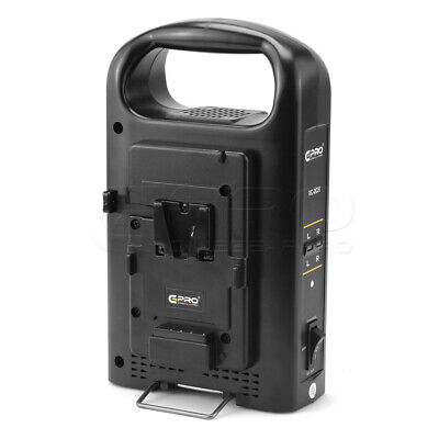 CGPro Dual Channel Charger For V-mount Camera Battery UK Seller