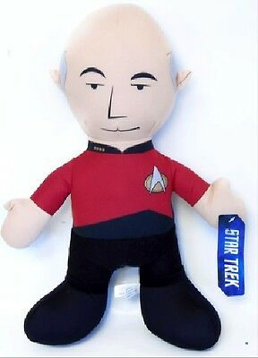 Star Trek 14″ Plush Captain Picard Plush (peluche) Figure