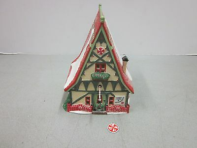 Dept 56 North Pole Candy Cane Peppermint Shop