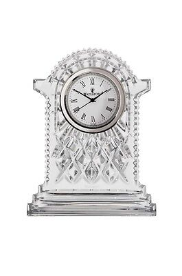 WATERFORD CRYSTAL Lismore Large Carriage Clock (Height 17cm)