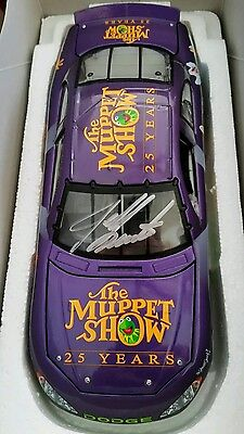 The Muppets Show 25 Years Jeff Burton Autographed 1/24 diecast