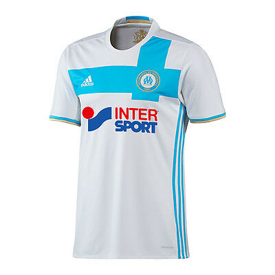 adidas Olympique Marseille Trikot Home 16/17 Weiss