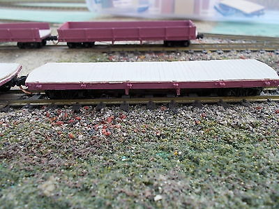 HOn30 Bilerica & Bedford/Sandy River RR Flatcar Kit 2 Pack