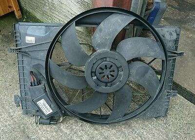 Mercedes W209 Clk 270 Cdi Engine Cooling Fan And Cowling A 2035000293