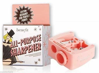 BENEFIT ALL-PURPOSE PENCIL SHARPENER Make Up Brand New Free Delivery