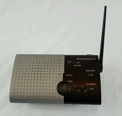 1 Chamberlain NLS2 Wireless Portable Intercom - One Unit ONLY NO POWER CORD