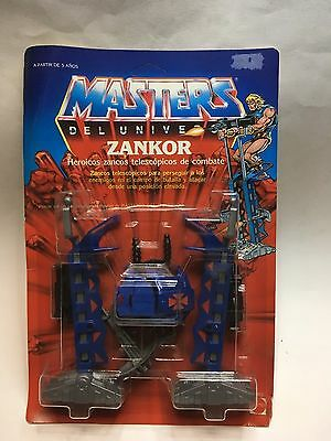 Masters Del Universo - Zankor - Motu - Moc- Spanish - New- Sealed