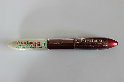 L'Oreal Paris Double Extensions Beauty Tubes Technology - Shade: Black - 2x6ml