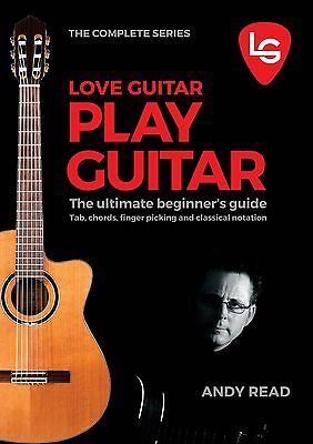 **Play Guitar Beginners Tuition Book Best Way to Learn Acoustic With Help Videos
