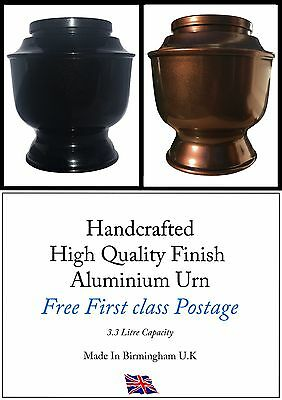 Handmade Cremation Urn/Casket for Adults Ashes High Gloss Finish
