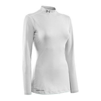Under Armour Coldgear Fitted Mock Damen Weiss F100