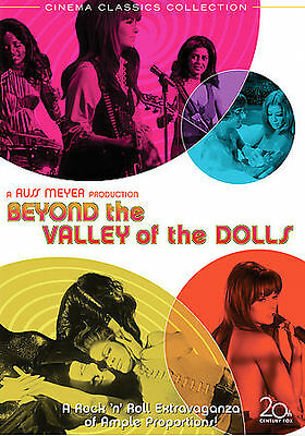 Beyond the Valley of the Dolls DVD