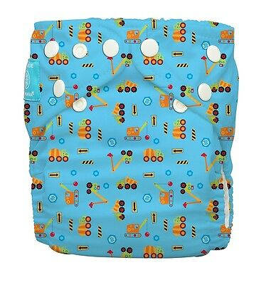 BN Charlie Banana Under Construction Reuseable Small Cloth Pocket Nappy