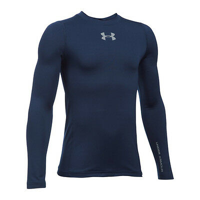 Under Armour Coldgear Shirt Crew langarm Kids F410