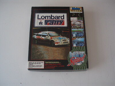 Lombard Rally  Vintage PC Game