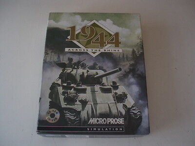 1944 Across The Rhine   Vintage PC Game from Microprose