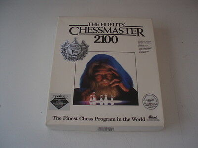 The Fidelity Chestmaster 2100  Vintage PC Game
