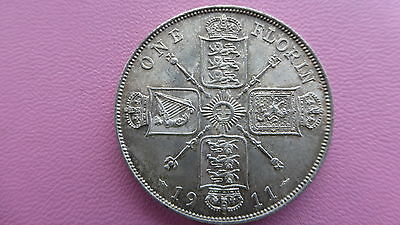 George v 1911 proof florin coin uncirculated