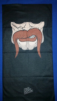 Motorcycle Bike Winter Surf Tube Neck Face Mask Seamless Bandana Moustache