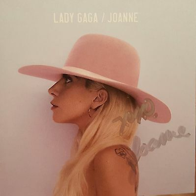 "Lady Gaga New CD ""Joanne"" SIGNED autographed booklet SOLD OUT COA"